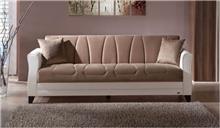 ספה שמנת תלת מושבית - אלבור רהיטים