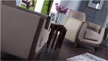 כורסת שמנת לסלון - אלבור רהיטים
