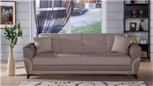 ספה מרופדת תלת מושבית - אלבור רהיטים