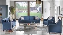 ריהוט כחול לסלון - אלבור רהיטים