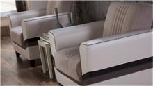 כורסא לבנה - אלבור רהיטים