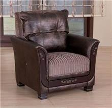 כורסא בצבע חום - אלבור רהיטים