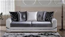 ספת תלת אפור לבן - אלבור רהיטים