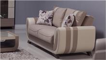 ספה דו מושבית שמנת - אלבור רהיטים