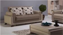 ספה שמנת דו מושבית - אלבור רהיטים