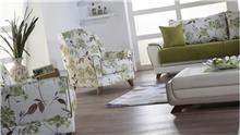 כורסה בדוגמת עלים - אלבור רהיטים