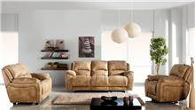 סלון חום בהיר - אלבור רהיטים