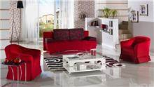 סלון אדום - אלבור רהיטים