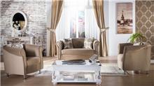 סלון בגוון מוקה - אלבור רהיטים