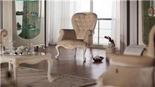כורסה בהירה - אלבור רהיטים