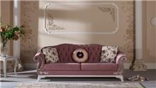 ספה ורודה מעוצבת - אלבור רהיטים