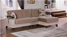 ספה פינתית עם הדום - אלבור רהיטים