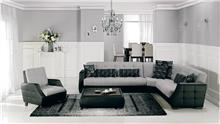 ספה פינתית חום בז' - אלבור רהיטים