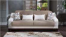 ספת תלת לבנה וחומה - אלבור רהיטים