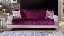 ספה מעוצבת ורודה - אלבור רהיטים