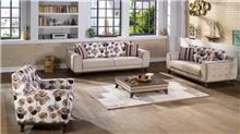 סלון מעוצב פרחוני - אלבור רהיטים