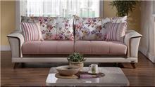 ספות תלת מושביות ורודות - אלבור רהיטים
