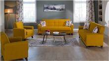סלון צהוב - אלבור רהיטים