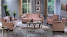 סלון ורוד בהיר - אלבור רהיטים