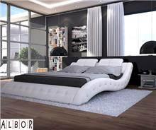 מיטה עיצובית - אלבור רהיטים