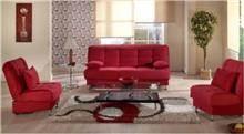 ספה אדומה יוקרתית - אלבור רהיטים