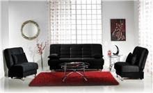 ספה שחורה - אלבור רהיטים
