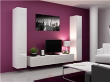 מזנון לבן לסלון - אלבור רהיטים