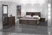 חדר שינה כהה - אלבור רהיטים