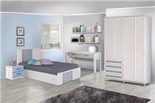 חדר ילדים בעיצוב עדין - אלבור רהיטים