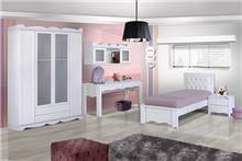 חדר ילדים לבן - אלבור רהיטים