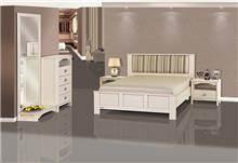 חדר שינה פסים - אלבור רהיטים