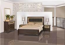 חדר שינה מעוטר זהב - אלבור רהיטים