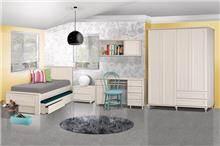 חדר ילדים שמנת - אלבור רהיטים