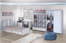 חדר ילדים אורבני - אלבור רהיטים