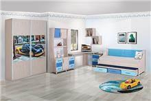 חדר ילדים מכוניות - אלבור רהיטים