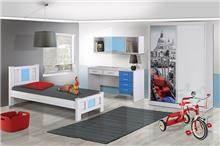 חדר ילדים כחול - אלבור רהיטים