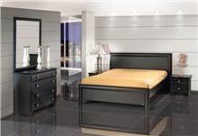 חדר הורים בצבע שחור - אלבור רהיטים