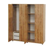 ארון בגדים 4 דלתות - אלבור רהיטים