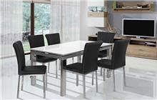 שולחן אוכל מלבני - אלבור רהיטים
