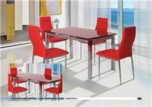 פינת אוכל אדומה - אלבור רהיטים