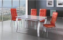 שולחן לבן - אלבור רהיטים
