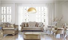 מערכת ישיבה מוזהבת - אלבור רהיטים
