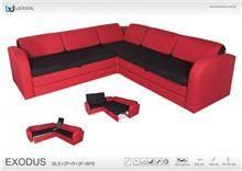 ספה פינתית נפתחת Exodus - אלבור רהיטים