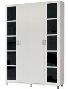 ארון דלתות פרופיל PD107 - אלבור רהיטים
