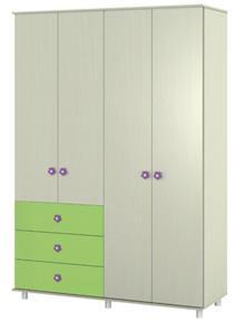 ארון דלתות פתיחה C6 - אלבור רהיטים