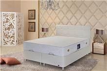 מיטה זוגית מרופדת ומקסימה