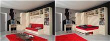מיטת קיר במה - אלבור רהיטים