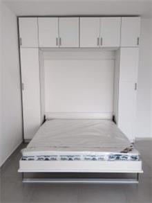 ארון עם מיטה זוגית נפתחת - אלבור רהיטים