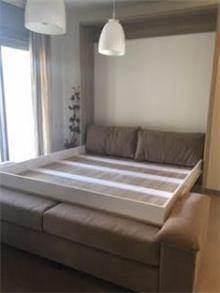 ארון קיר וספה הנפתחים למיטה זוגית - אלבור רהיטים