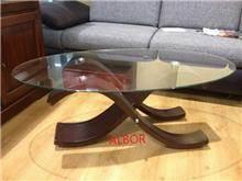שולחן סלון אובאלי - אלבור רהיטים
